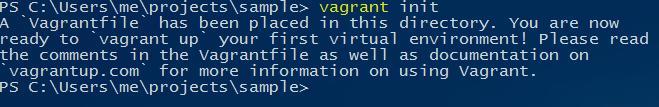 vagrant-init